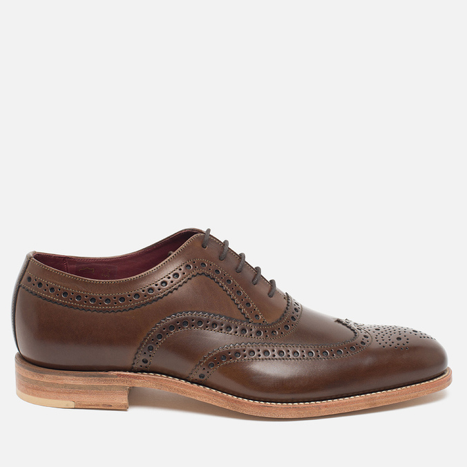 Мужские ботинки Loake Fearnley Oxford Dark Brown