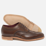 Мужские ботинки Loake Fearnley Oxford Dark Brown фото- 2