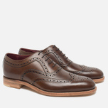 Мужские ботинки Loake Fearnley Oxford Dark Brown фото- 1