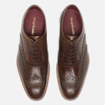 Мужские ботинки Loake Fearnley Oxford Dark Brown фото- 4