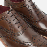 Мужские ботинки Loake Fearnley Oxford Dark Brown фото- 5