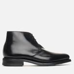 Мужские ботинки Loake Polished Chukka Black фото- 0