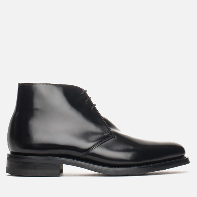 Мужские ботинки Loake Polished Chukka Black