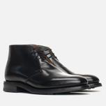Мужские ботинки Loake Polished Chukka Black фото- 1