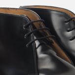 Мужские ботинки Loake Polished Chukka Black фото- 5