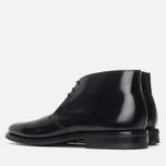 Мужские ботинки Loake Polished Chukka Black фото- 2