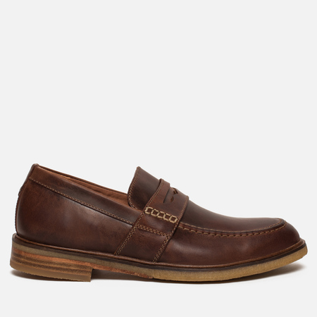 Мужские ботинки лоферы Clarks Originals Clarkdale Flow Leather Mahogany