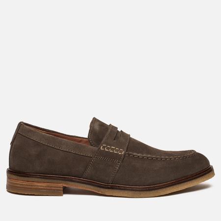 Мужские ботинки лоферы Clarks Originals Clarkdale Flow Suede Olive