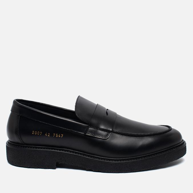 Мужские ботинки лоферы Common Projects 2007 Black