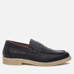 Мужские ботинки лоферы Common Projects Loafer Stamped Grain Black фото- 0