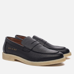 Мужские ботинки лоферы Common Projects Loafer Stamped Grain Black фото- 2