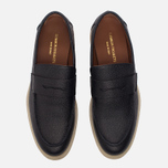 Мужские ботинки лоферы Common Projects Loafer Stamped Grain Black фото- 4