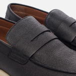Мужские ботинки лоферы Common Projects Loafer Stamped Grain Black фото- 5