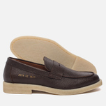 Мужские ботинки лоферы Common Projects Loafer Stamped Grain Brown фото- 1