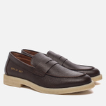 Мужские ботинки лоферы Common Projects Loafer Stamped Grain Brown фото- 2