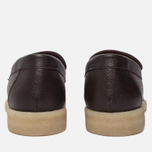 Мужские ботинки лоферы Common Projects Loafer Stamped Grain Brown фото- 3