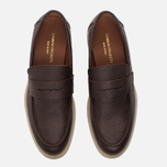 Мужские ботинки лоферы Common Projects Loafer Stamped Grain Brown фото- 4