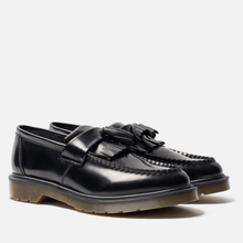 Ботинки лоферы Dr. Martens Adrian Smooth Polished Black фото- 0