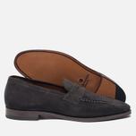 Мужские ботинки лоферы Grenson Floyd Suede Lavagne фото- 2