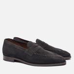 Мужские ботинки лоферы Grenson Floyd Suede Lavagne фото- 1