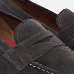 Мужские ботинки лоферы Grenson Floyd Suede Lavagne фото- 5
