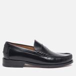 Мужские ботинки лоферы Loake Kingston Black фото- 0