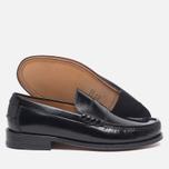 Мужские ботинки лоферы Loake Kingston Black фото- 2