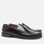 Мужские ботинки лоферы Loake Kingston Black фото- 1