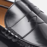 Мужские ботинки лоферы Loake Kingston Black фото- 4