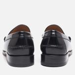 Мужские ботинки лоферы Loake Kingston Black фото- 3