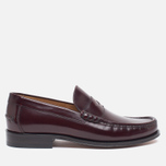 Мужские ботинки лоферы Loake Kingston Burgundy фото- 0