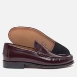 Мужские ботинки лоферы Loake Kingston Burgundy фото- 2
