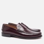 Мужские ботинки лоферы Loake Kingston Burgundy фото- 1