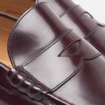 Мужские ботинки лоферы Loake Kingston Burgundy фото- 4