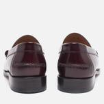 Мужские ботинки лоферы Loake Kingston Burgundy фото- 3