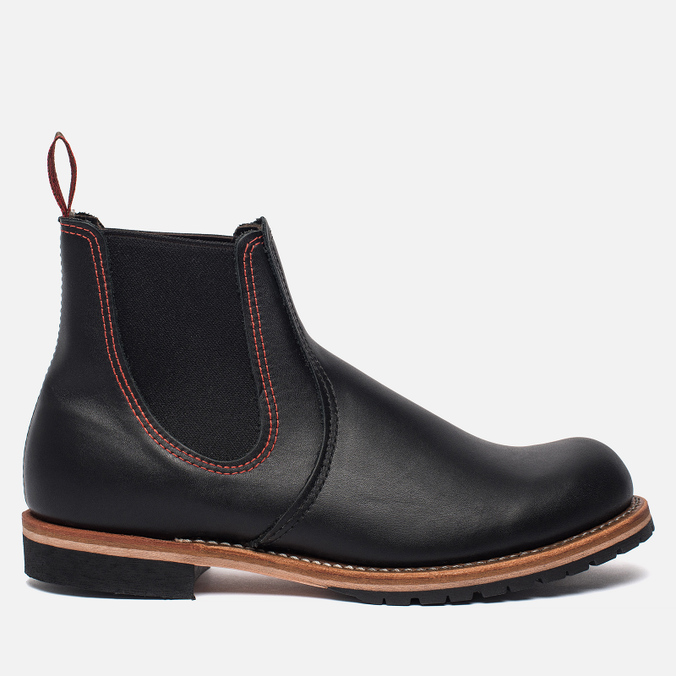 Мужские ботинки Red Wing Shoes 2918 Сhelsea Rancher Leather Black Star