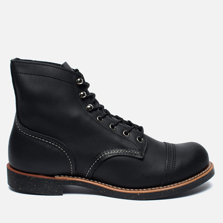 Мужские ботинки Red Wing Shoes 8114 Iron Ranger Harness Leather Black