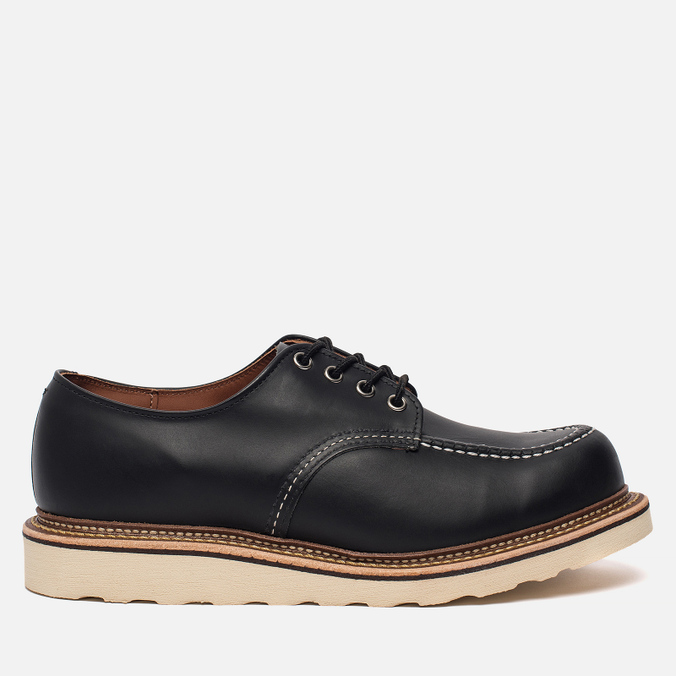 Мужские ботинки Red Wing Shoes 8106 Classic Oxford Leather Black Chrome