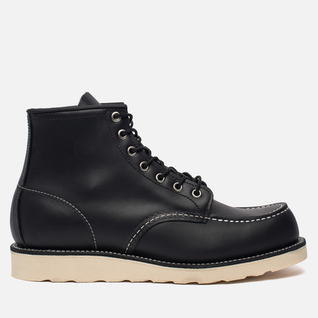 Мужские ботинки Red Wing Shoes 8130 Classic Moc Leather Black Chrome