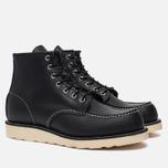 Мужские ботинки Red Wing Shoes 8130 Classic Moc Leather Black Chrome фото- 1