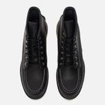 Мужские ботинки Red Wing Shoes 8130 Classic Moc Leather Black Chrome фото- 4