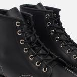 Мужские ботинки Red Wing Shoes 8130 Classic Moc Leather Black Chrome фото- 5