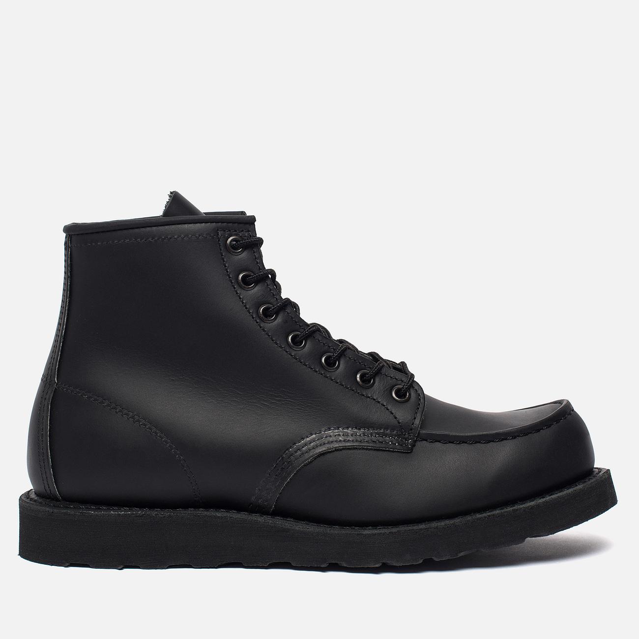 Мужские ботинки Red Wing Shoes 8137 6-Inch Moc Leather Black Skagway