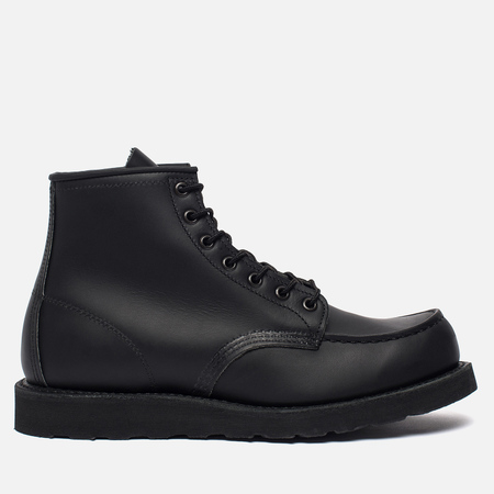 Мужские ботинки Red Wing Shoes 8137 6-Inch Moc Leather Black Skagway