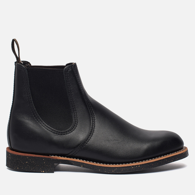 Мужские ботинки Red Wing Shoes 8200 Сhelsea Rancher Leather Black Star