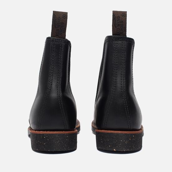 Мужские ботинки Red Wing Shoes 8200 Сhelsea Rancher Leather Black Star