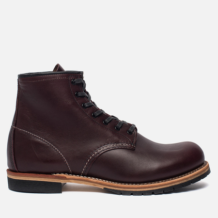 Мужские ботинки Red Wing Shoes 9011 Beckman Round Leather Black Cherry Featherstone