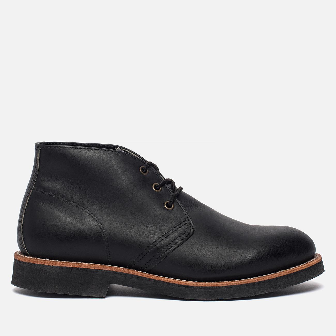 Мужские ботинки Red Wing Shoes 9216 Foreman Chukka Leather Black Harness