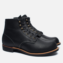 Мужские ботинки Red Wing Shoes 2955 Blacksmith Spitfire Leather Black фото- 2