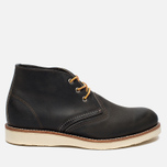 Мужские ботинки Red Wing Shoes 3150 Work Chukka Rough/Tough Leather Charcoal фото- 0